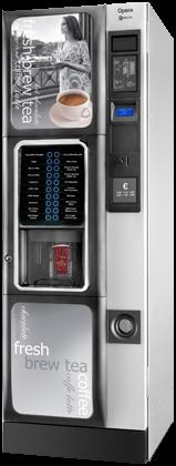 Opera floor standing hot beverage vending machine